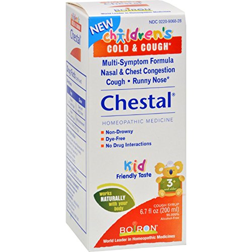 Boiron Children s Chestal Cough and Cold - 6.7 oz - Gluten Free-Dairy Free-Yeast Free-Wheat Free-Vegan by Boiron
