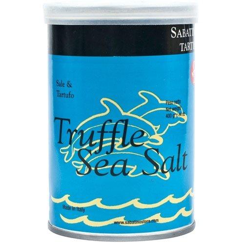 Sabatino Tartufi Sea Salt, Truffle, 14 Ounce