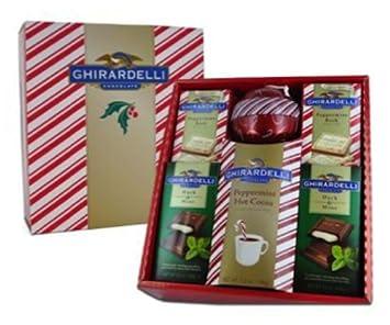 Amazoncom  Ghirardelli Chocolate Gracious Holiday Box  Gourmet