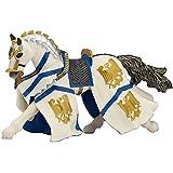 Papo - 39336 - Figurine - Cheval du Chevalier Guillaume