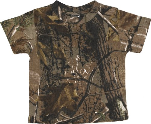 Code V Toddler Officially Licensed Realtree Camouflage T-Shirt (Realtree Ap) (2T)