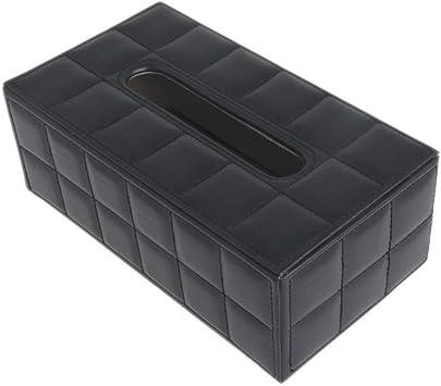 Ycncixwd - Soporte para caja de pañuelos de piel sintética resistente para casa, oficina, coche, rectangular: Amazon.es: Bricolaje y herramientas