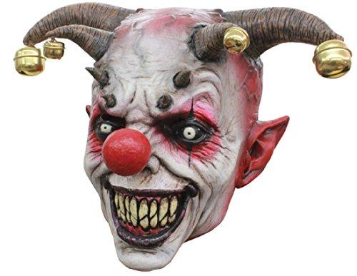Jingle Jangle The Clown Scary Latex Halloween Horror Head Mask (Realistic Masks For Sale)