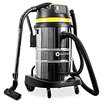 Klarstein IVC-50 Aspiradora Industrial • Aspiración Seca y húmeda • Sin Bolsa • Filtro