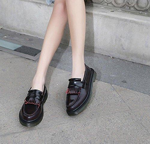 Martin Frühling Peas Schuhe, flache Schuhe Freizeitschuhe Dameneinzel Schuhe wipe red