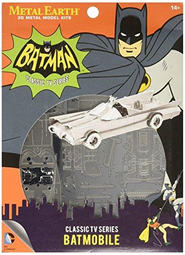 Fascinations Metal Earth Batman Classic TV Series Batmobile 3D Metal Model Kit]()