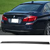 window ac fitting - Pre-painted Roof Spoiler Fits 2011-2016 BMW 5 Series | AC Style Painted #475 Black Sapphire ABS Rear Wing Window Roof Top Spoiler Other Color Available by IKON MOTORSPORTS | 2012 2013 2014 2015