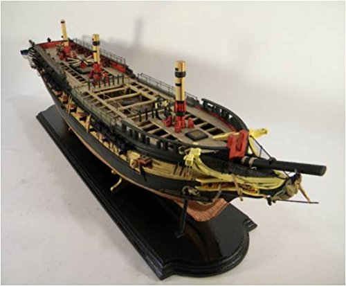 Model Shipways USF Essex 1:76 Scale Wood Ship Kit MS2041 ON SALE - Model Expo ()