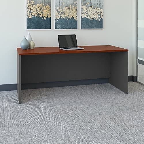 Bush Business Furniture Series C 72W x 30D Office Desk in Hansen Cherry