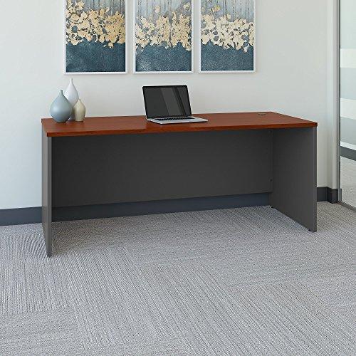 Bush Series C 72W x 30D Office Desk in Hansen Cherry