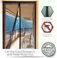Premium Magnetic Screen Door - KEEP BUGS OUT, Let Fresh Air