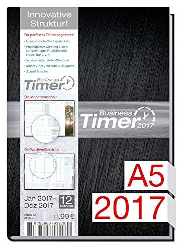 Chäff Business-Timer 2017 A5 12 Monate Jan - Dez 2017