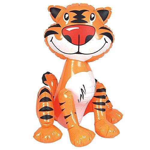 Rhode Island Novelties - Inflatable Tiger - (Tiger Party Supplies)
