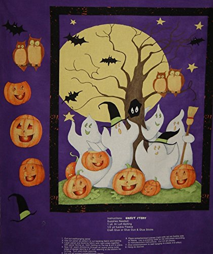 Halloween Craft Fabric by the Panel
