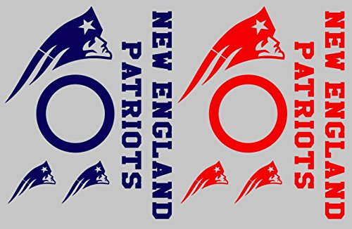 G&S New England Patriots Cornhole Decal Set -
