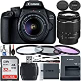 Canon EOS 4000D DSLR Camera with 18-55mm III Lens & Starter Accessory Bundle -...
