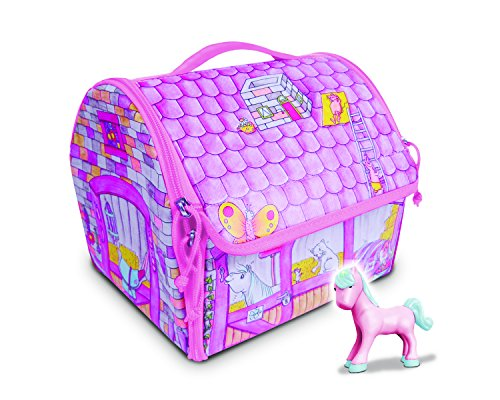 Everyday Princess ZipBin 40 Pony Play set w/ 1 Pony