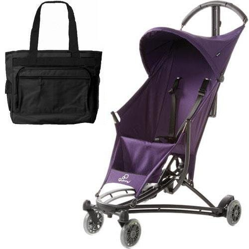 Quinny YEZZ Lightweight Stroller with Diaper Bag - Purple Rush