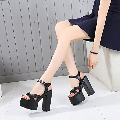 de sandalias de tienda alto XiaoGao tacon 14cm noche wtEP6xqXgn