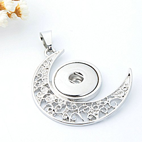 2017 New Crystal Alloy Pendant for Fit Noosa Necklace Snap Chunk Button A13