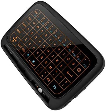 H18 2.4G Wireless Backlight Whole Panel Touchpad Keyboard Air Mouse for Windows//Android//Smart TV Box//Xbox//PC ILS