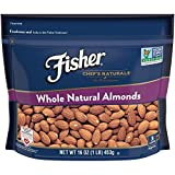 FISHER Chef's Naturals Whole Almonds, No Preservatives, Non-GMO, 16 oz Review