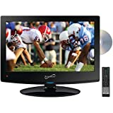 Supersonic SC-1512 15'' Class LED HDTV with Built-in DVD Player