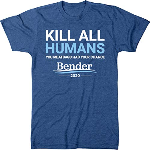 Bender 2020 Campaign Slogan Men's Modern Fit Tri-Blend T-Shirt
