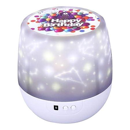 HongTeng Star Luces nocturnas para niños, proyector cósmico de ...