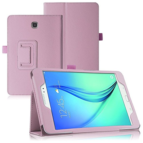 Cover Samsung Galaxy Tab 3 7.0 Tablet Case,Galaxy Tab3 7 inch Case,Beebiz PU Leather Protective Case for Samsung Galaxy Tab 3 7.0 SM-T217S Case(Pink)