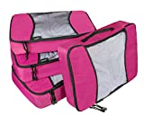 Bagpake 4 Set Packing Cubes-Travel Luggage Packing Organizers-4 Extra large