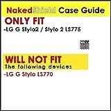 LG G Stylo2 / Stylo 2 LS775 Case, [NakedShield] [Black/Black] Armor Tough Shock Proof Kickstand Case - [Flux Capacitor] for LG G Stylo2 / Stylo 2 LS775