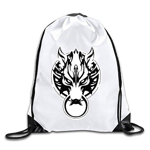 Price comparison product image Coreco Final Fantasy VII Logo Drawstring Backpack Sack Bag