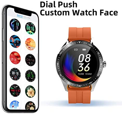 Smart Watch Fitness Tracker for Android iOS Phones,Body Temperature Smartwatch with Heart Rate Sleep Blood Pressure Blood Oxygen Monitor,Smart Watch for Men Women Compatible iPhone Android Samsung. 3