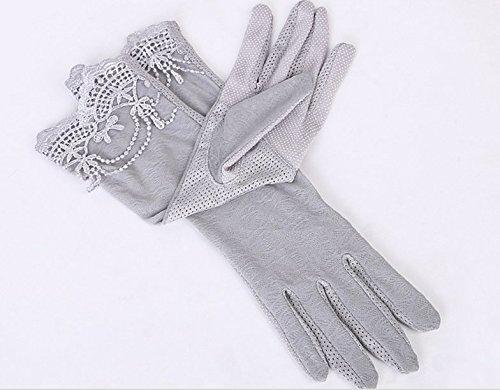 formanism エレガント レース使い 夏用 紫外線カット 外出 日焼け防止 サマー手袋 レディース