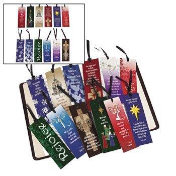 Mega Christmas Religious Bookmark Assortment - Sunday School & Stationery
