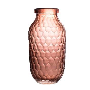 Amazon.com: Jarrón de cristal europeo con flor de cultura ...