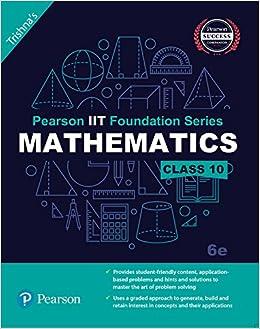 Pearson IIT Foundation Maths Class 10 (Old Edition): Amazon