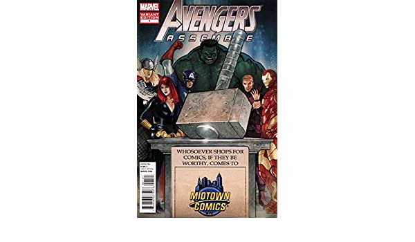 Amazon.com: Avengers Assemble (4th Series) #1D (4th) FN ...