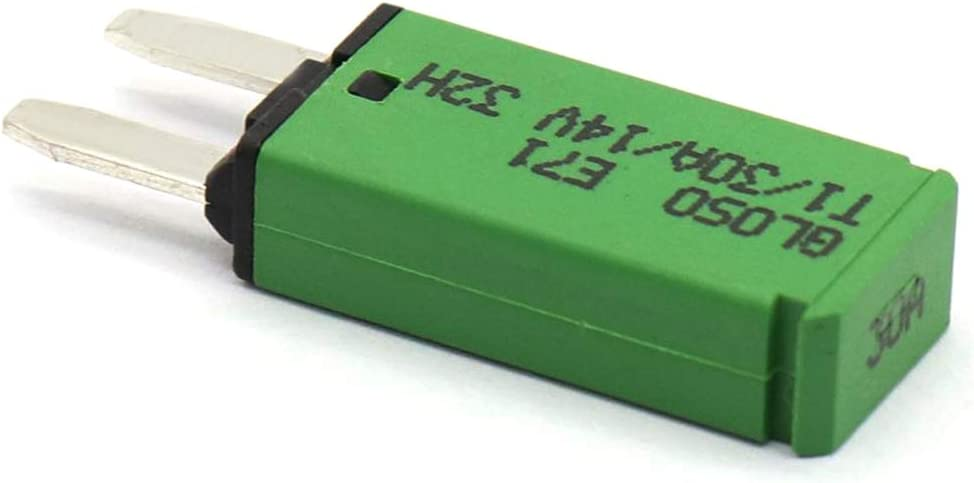 Homyl 7 Pieces Car ATM Mini Blade Fuse Kit Circuit Breaker Manual Reset 5AMP-30AMP
