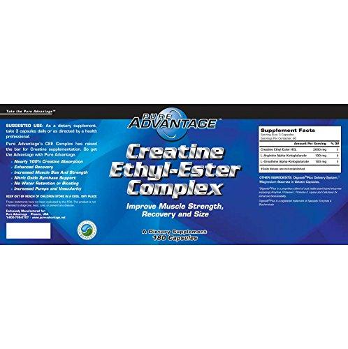 Pure Advantage Creatine Ethyl Ester Complex 180 caps (50013)