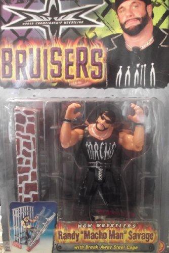 WCW Bruisers Variant Outfit Randy Macho Man Savage with Break Away Steel (Macho Man Randy Savage Outfit)