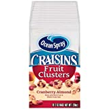 Ocean Spray Craisins Cranberry Almond Fruit Cluster, 2 Ounce - 40 per case.