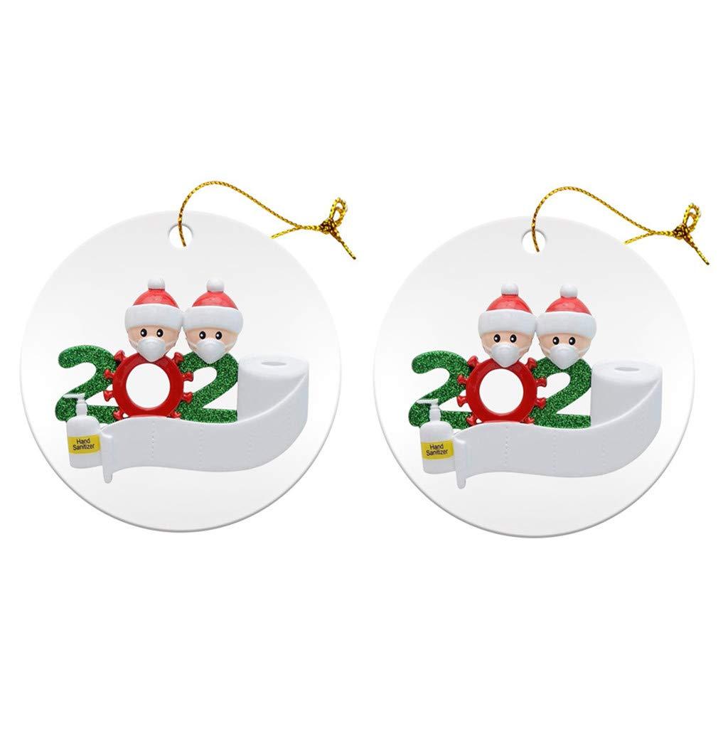 A Blingko Weihnachten Anh/äNger Holz 2020 Vintage Weihnachtsschmuck Dekoration Weihnachtsbaum Ornament H/äNgen Baumschmuck Holzanh/äNger Deko