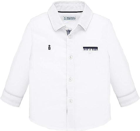 Mayoral, Camisa para bebé niño - 1164, Blanco: Amazon.es: Ropa y accesorios