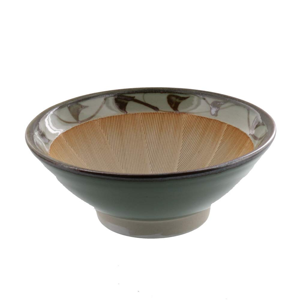 Zen Table Japan Arabesque Pattern Mortar (Suribachi) Medium 7.3 inches Made in Japan by Zen Table Japan