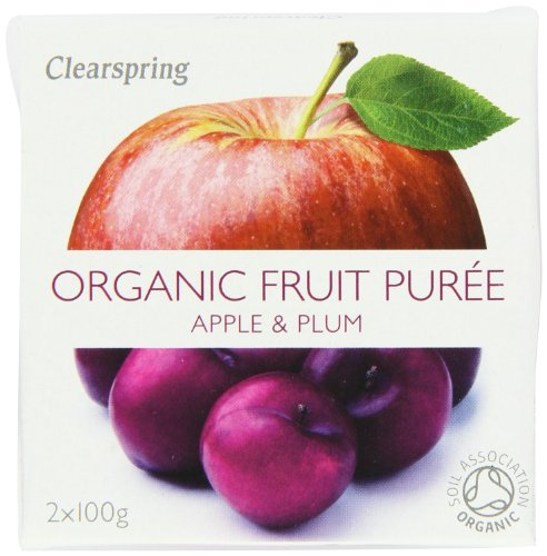 Clearspring Organic Apple and Plum Fruit Puree 2x100g (Pack of 12) by Clearspring (Image #5)'