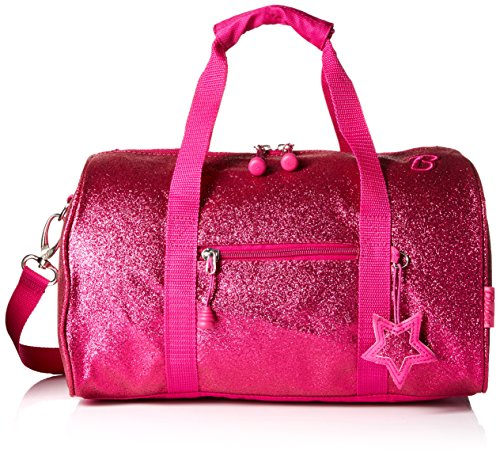 bixbee-sparklicious-glitter-duffel-bag-medium-ruby-raspberry