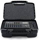 Sturdy Recorder Carrying Case - Carry TASCAM Dp-008ex, DP-006 Digital Pocket Studio Multi-Track Recorders, Adapter, Cables and Charger