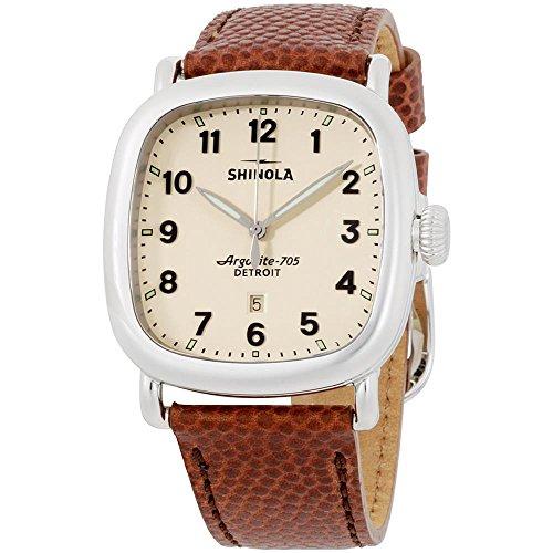 Shinola Detroit Unisex The Guardian 41mm - 20029582 Brown/Beige Watch